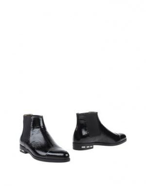 Ботинки челси LANVIN, черные, размер 38.5 (Европейский Размер)
