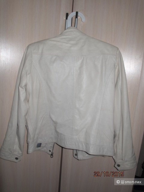 Кожаная куртка tommy hilfiger S