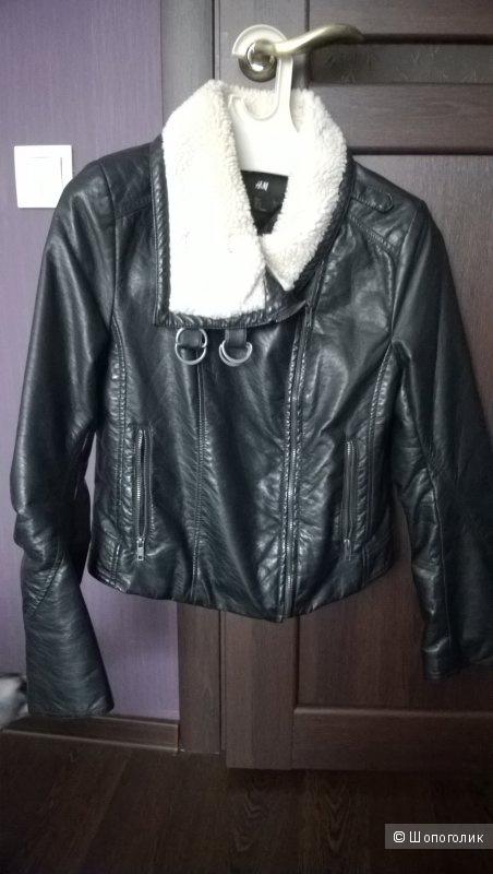 Куртка HM на синтипоне eur 38 (44-46)