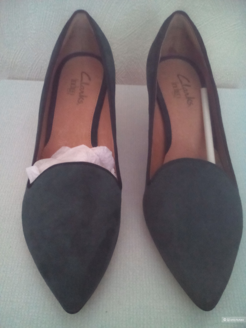 Туфли Clarks, размер 7 US