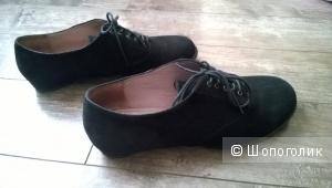 Ботинки замшевые ALBA 39 (стелька 26 см)