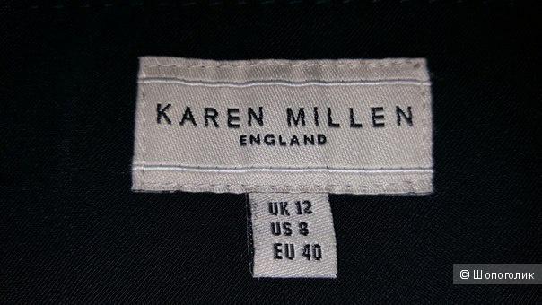 Юбка-карандаш черного цвета Karen Millen  размер 12