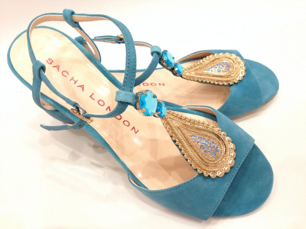 Sacha London брендовые сандалии в индийском стиле р.38.5 Новые