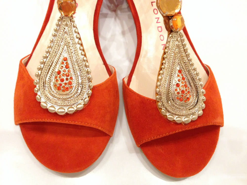 Sacha London брендовые сандалии в индийском стиле р.38 Новые