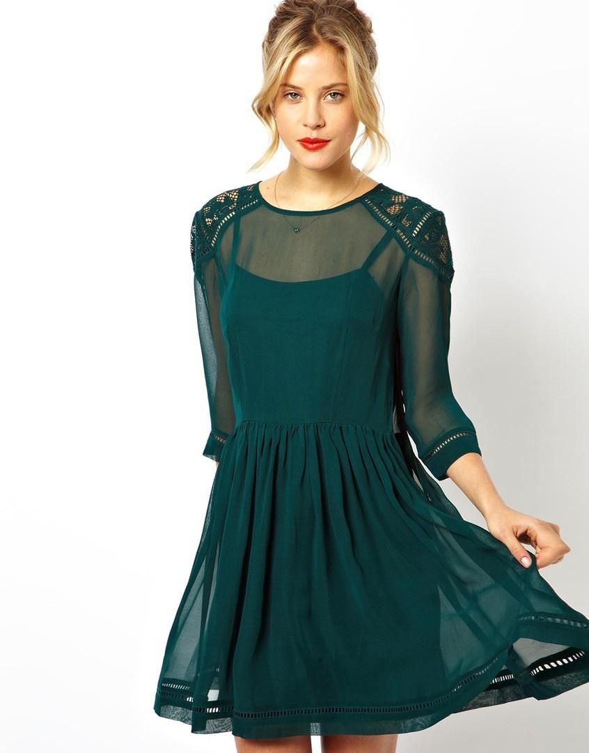 Красивое платье ASOS  44-46 размер