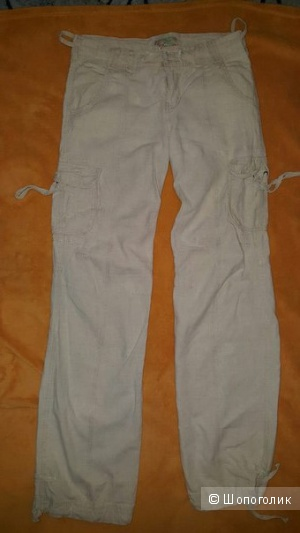 Льняные брюки женские  WTNY Club (размер 46-48)