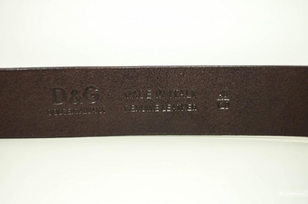 Новый кожаный ремень Dolce & Gabbana