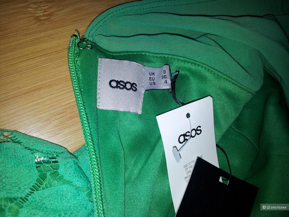 Зеленое платье Asos UK8 новое