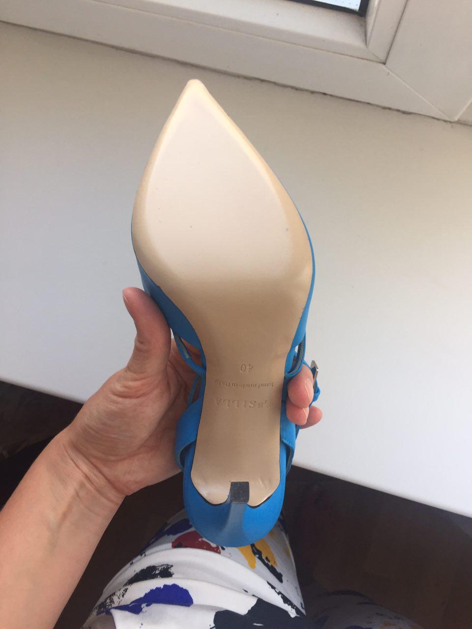Шикарные босоножки Le Silla (40 размер)