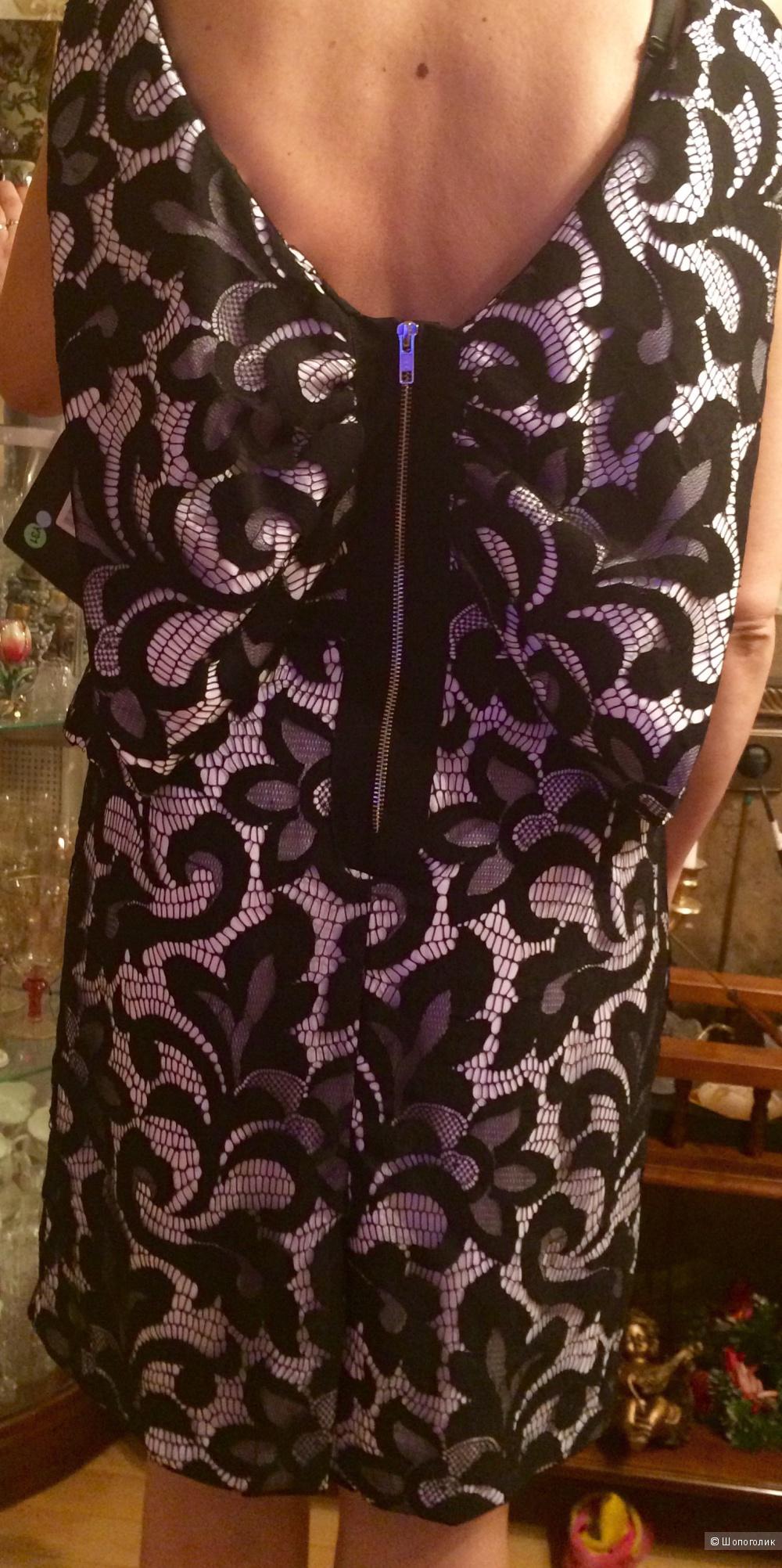Прекрасное платье от MILLY, совершенно космического кроя!
