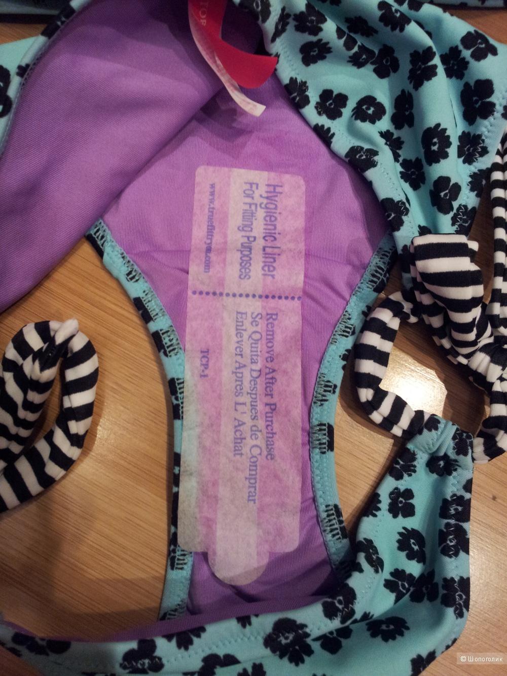 Купальник Victoria's Secret Gorgeous Push-up Halter размер 34B и XS новый