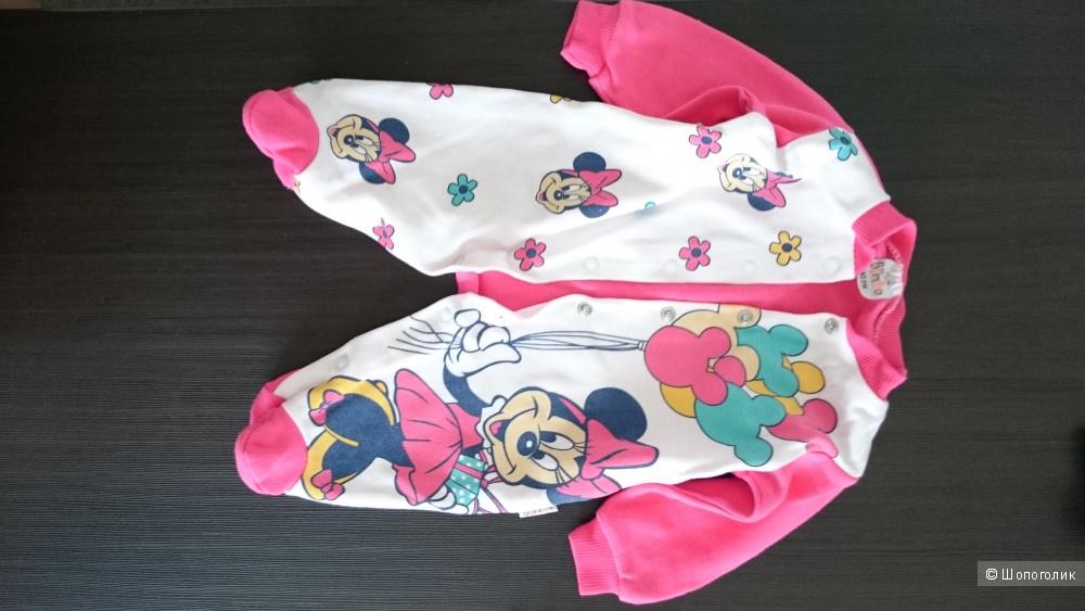 Пакет одежды для девочки от 52 до 62 размера