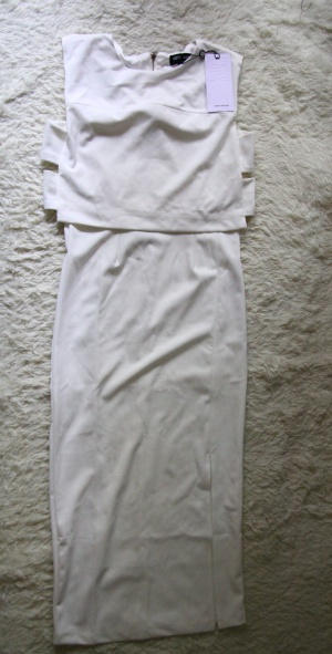 Белое миди платье Vero Moda 44/46