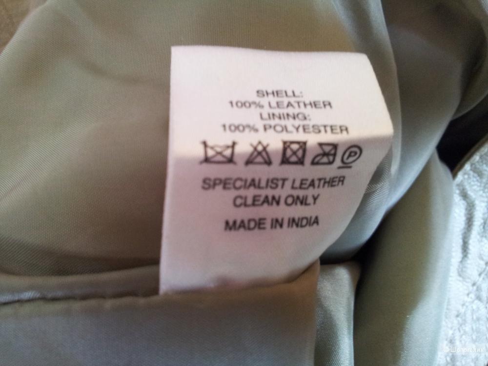Кожаные брюки Asos UK8