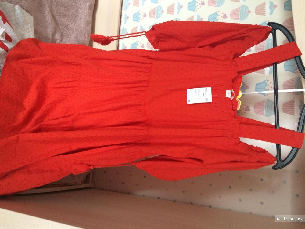 Платье H&M, новое с бирками, размер EU40, свободный крой, материал - хлопок 100%, отправлю почтой в любые регионы