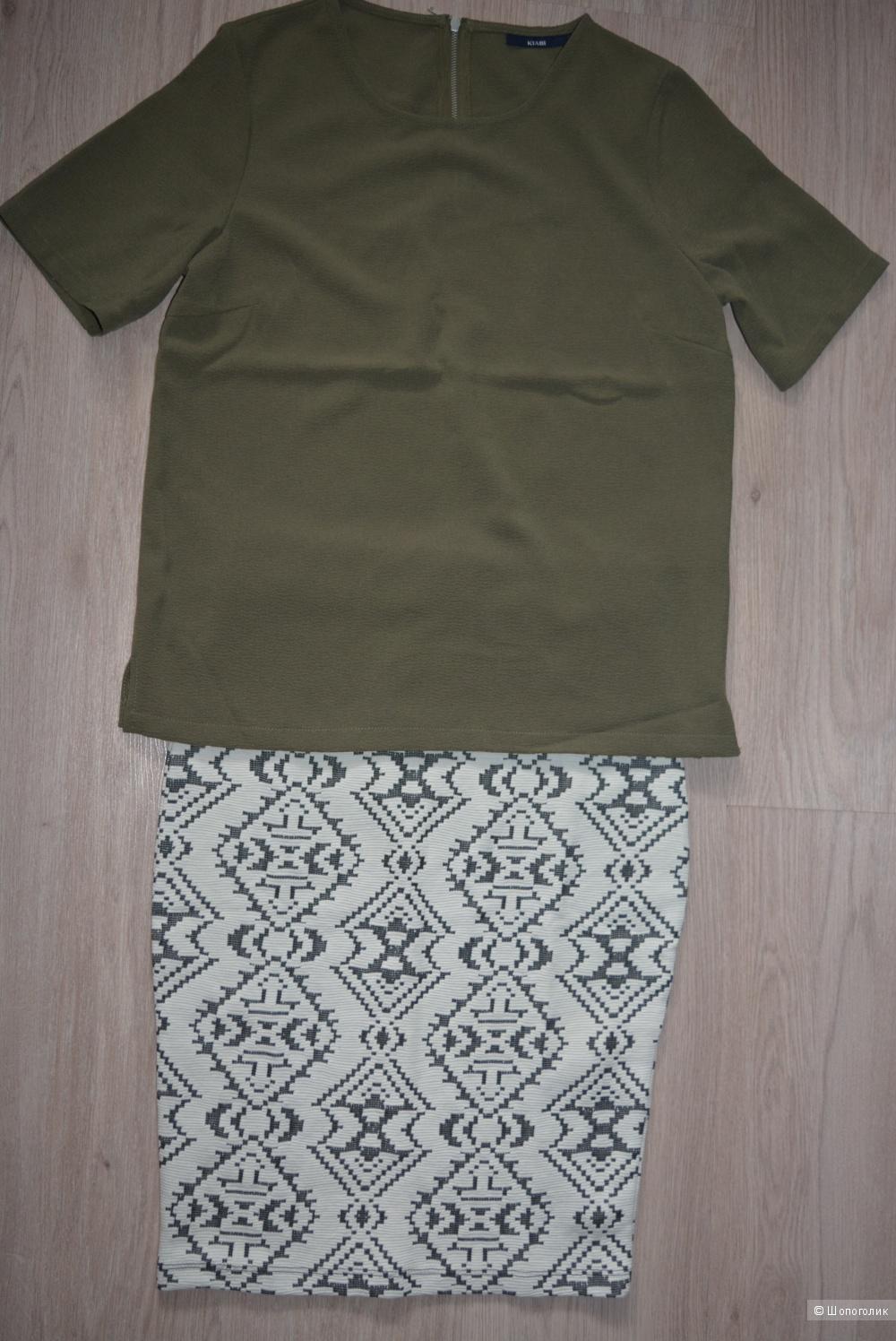 Новая юбка-карандаш на 42 размер