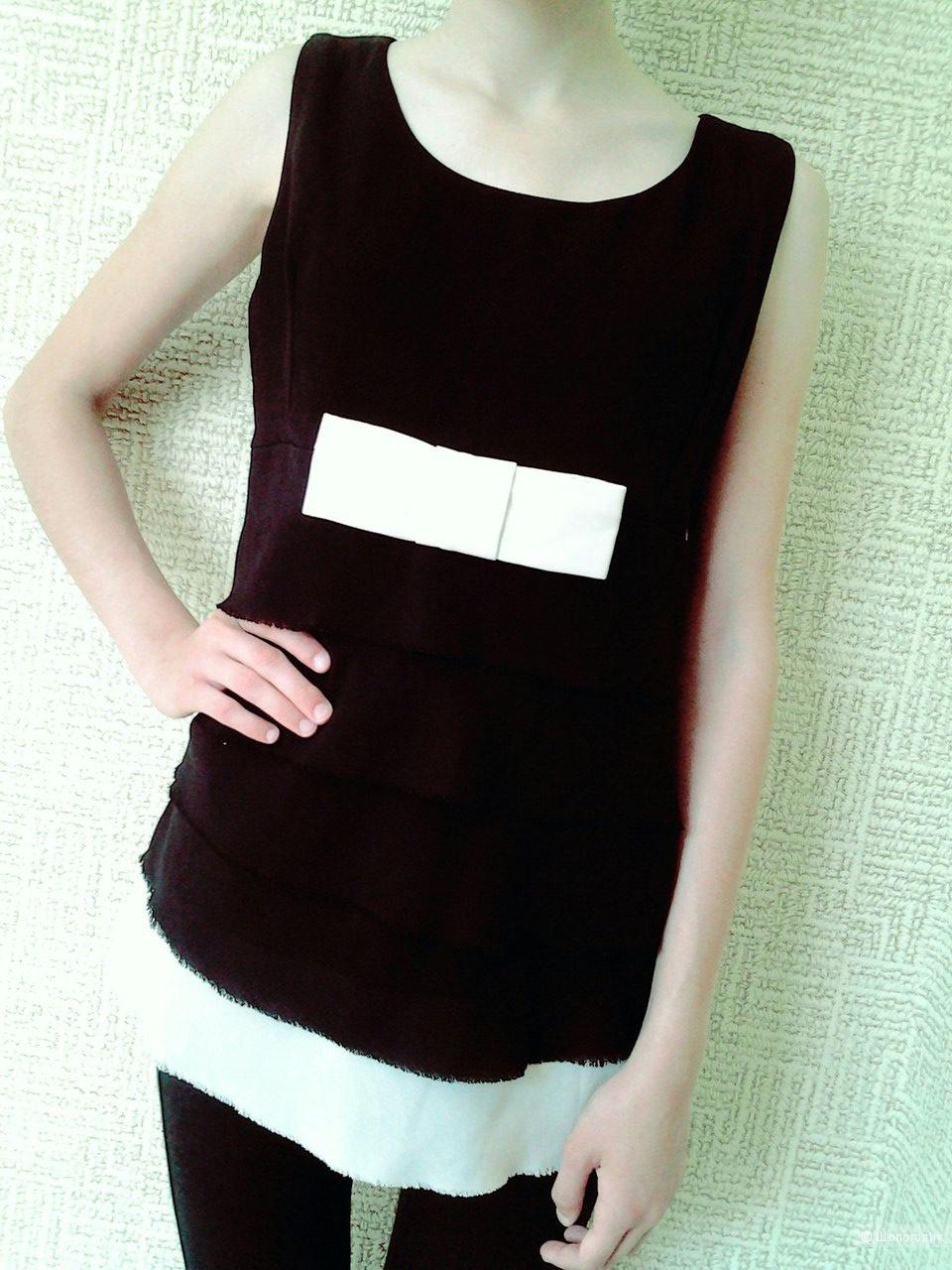 Красивая удлиненная блуза Piena