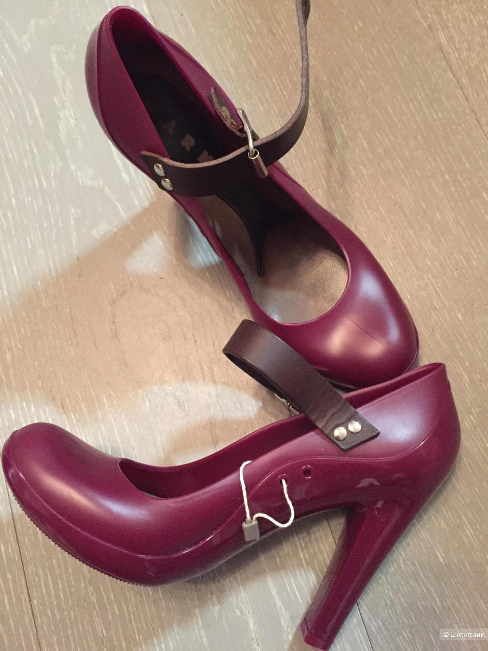 Резиновые туфли Marni, 39