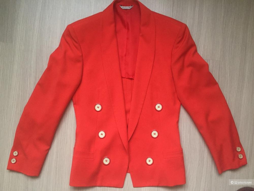 Винтажный пиджак Gianni Versace оригинал, 38 размер