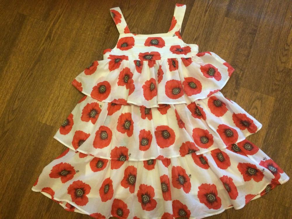 Шикарное детское платье Kenzo оригинал