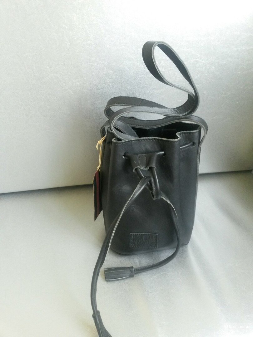 Кожаная мини-сумка дафл Jack Wills