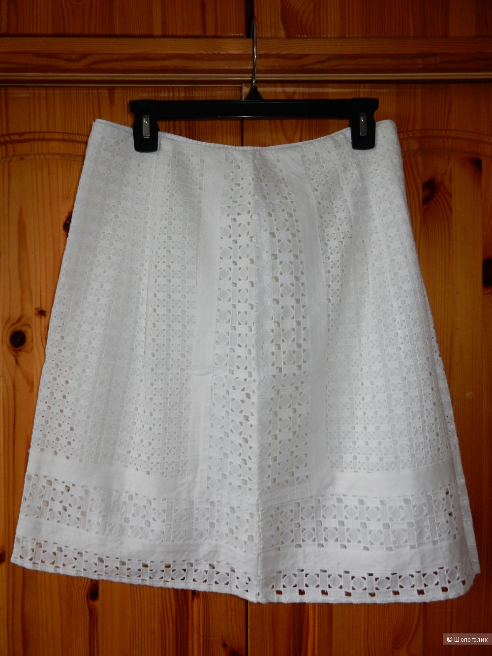 Новая хлопковая юбка Elie Tahari р. US 10 (на росс.46-48)