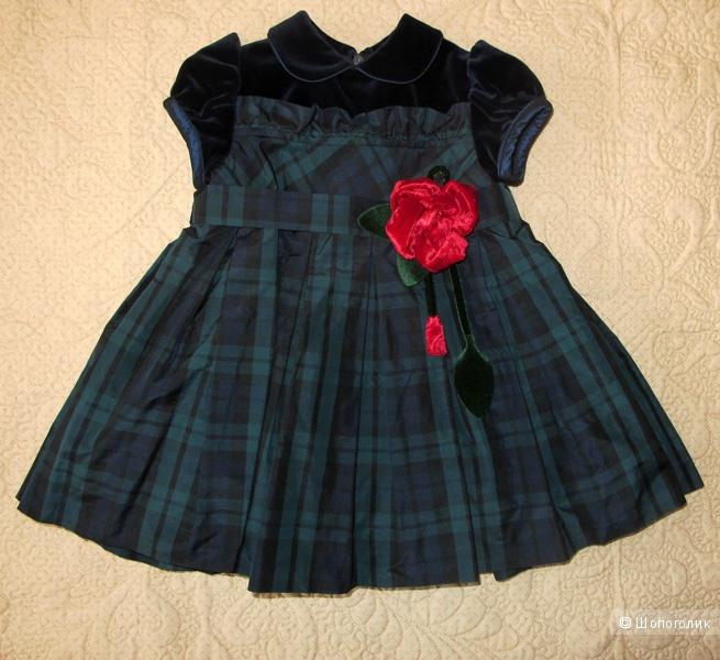 Новое платье Aletta, маркировка 6 мес/68см