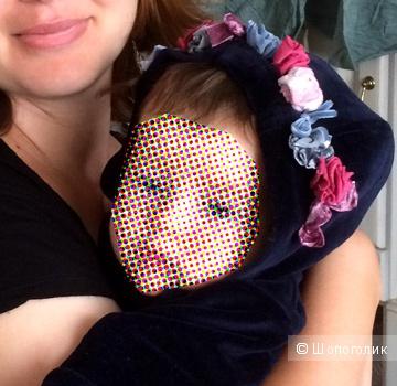 Бархатный костюм Aletta на 1-3 месяца