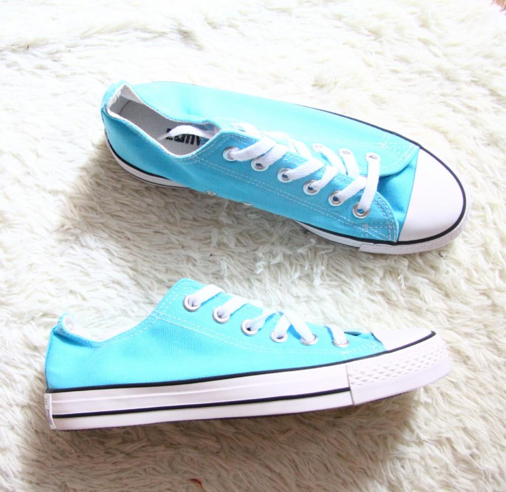 Новые converse голубого цвета 245 по стельке/38 размер