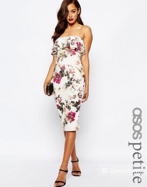 Красивое платье с воланом ASOS PETITE