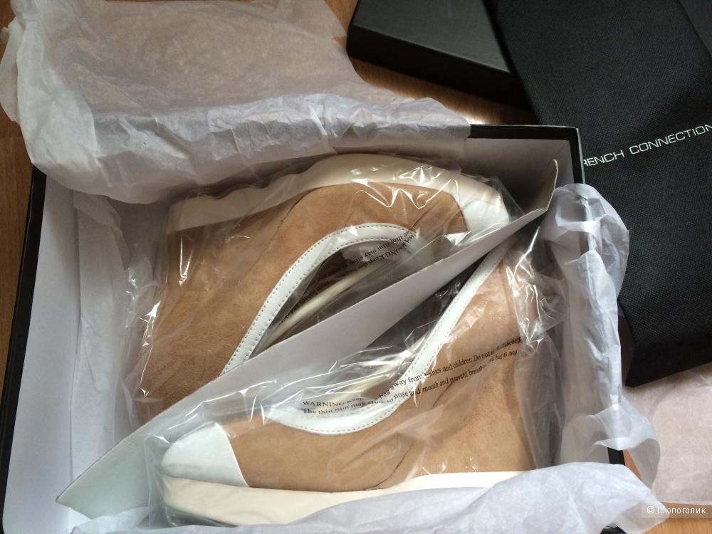 Продам новые туфли French Connection, замша