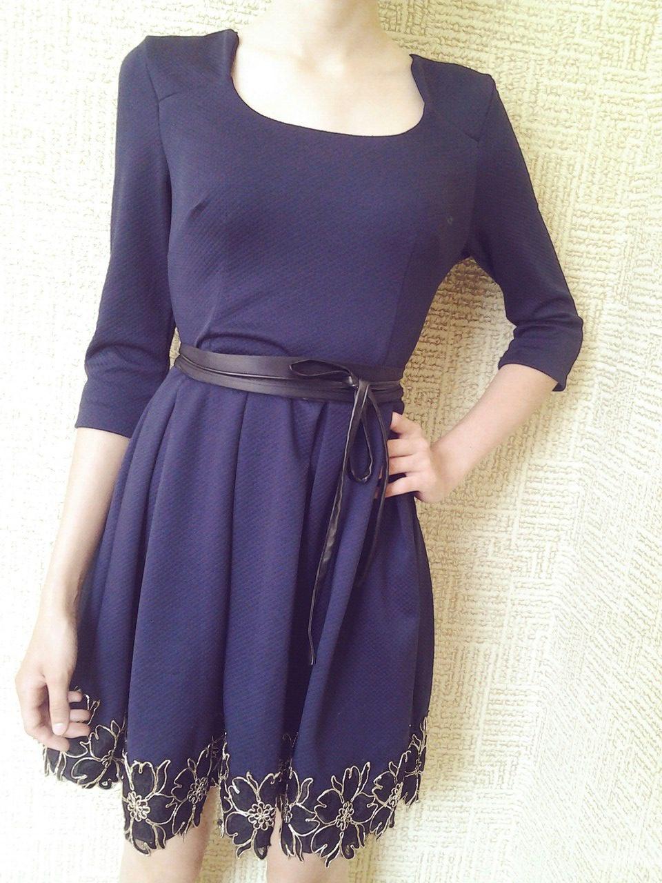 Синее платье Giatali