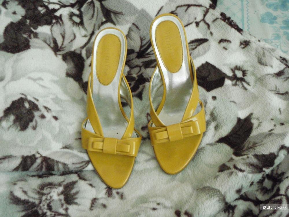 Желтые босоножки | Размер 37