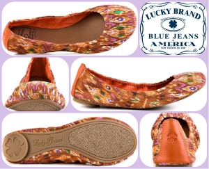 Балетки LUCKY BRAND Emmi (США) 38-38,5