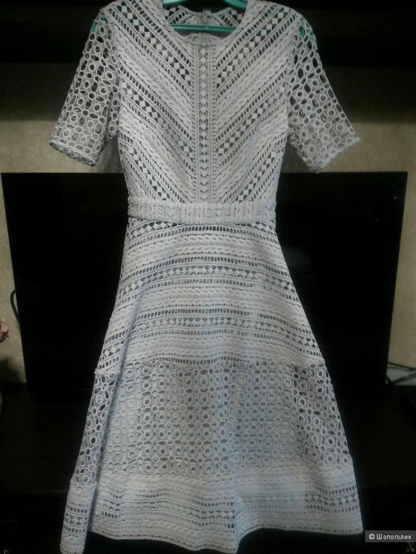 Шикарное кружевное платье миди ASOS PETITE Premium
