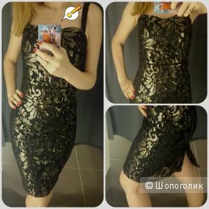 Платье нарядное черное Next размер S