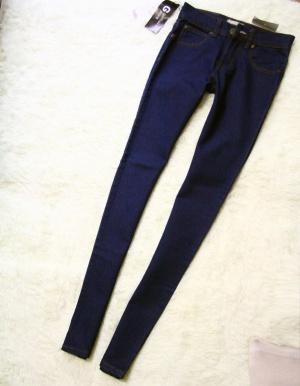Синие джинсы skinny  размер 25