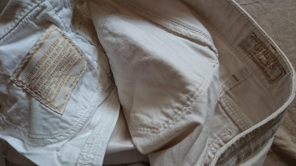 Шорты джинсовые Guess (США) со шнуровкой р. 29