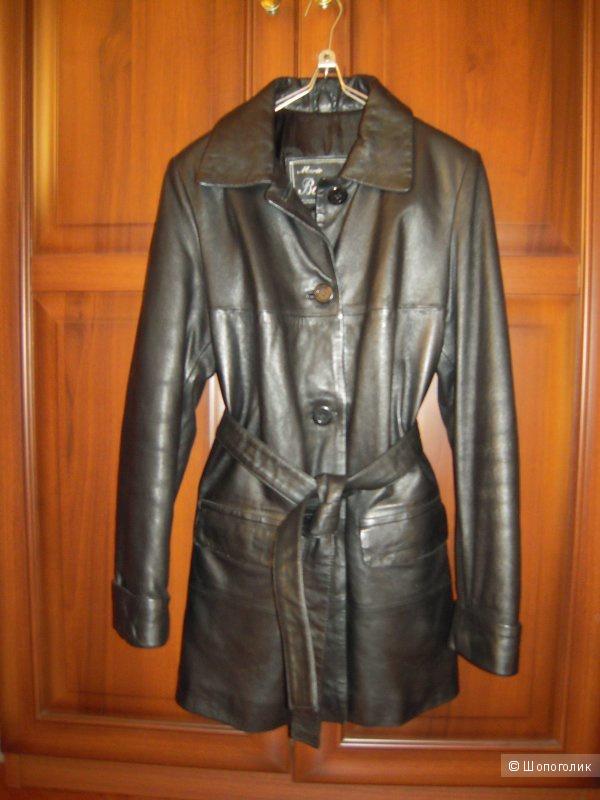 Кожаная куртка (100% кожа) 42-44