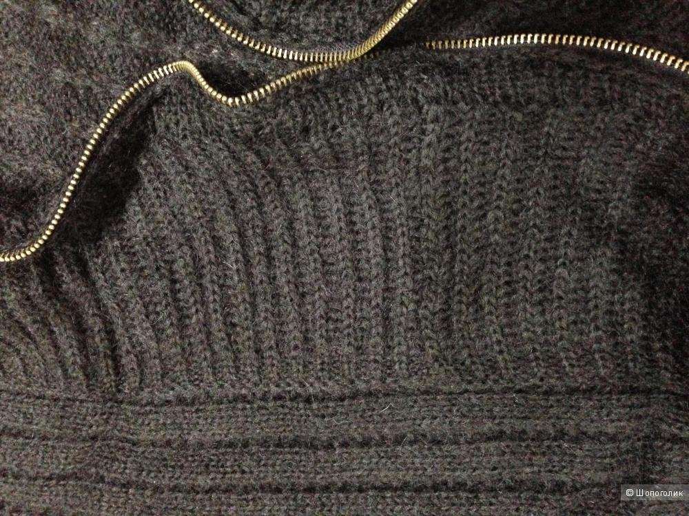 шикарное вязаное летнее пальто-накидка от APART р.42-44-46