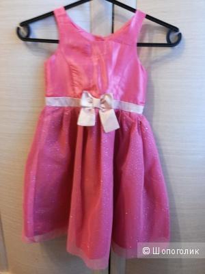 Нарядное платье H&M для девочки  5-6 лет