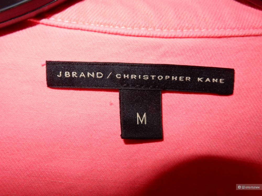 Неоновая джинсовая куртка J Brand/Christopher Kane размер М, идеальное состояние