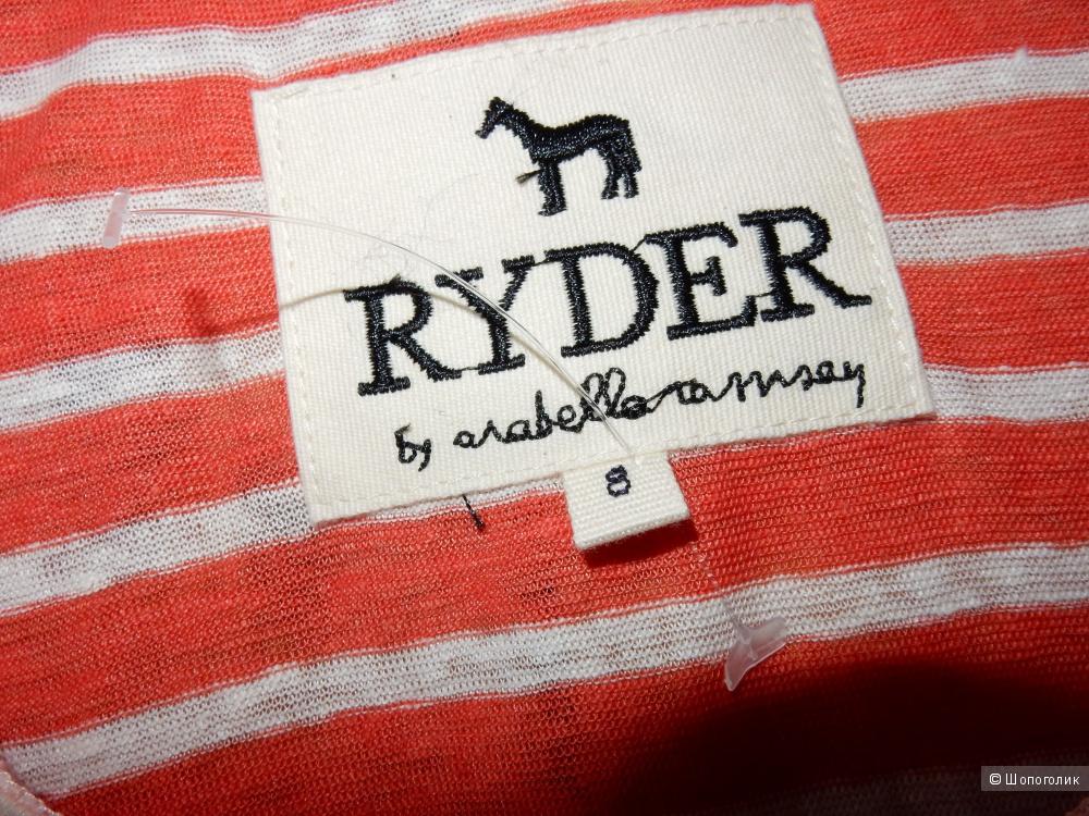 Льняной полосатый топ Ryder p.US8 (на росс.46)