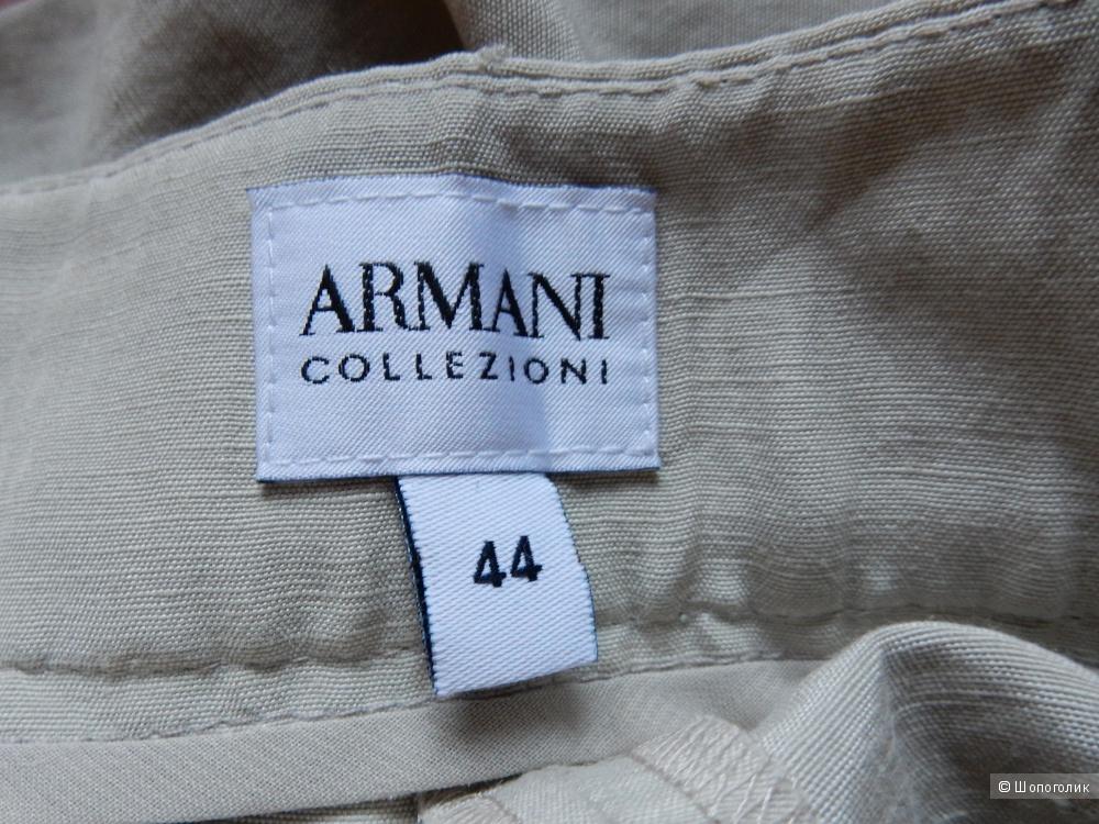 Новые брюки ARMANI COLLEZIONI лен/шелк р-р IT44 (на росс.46)