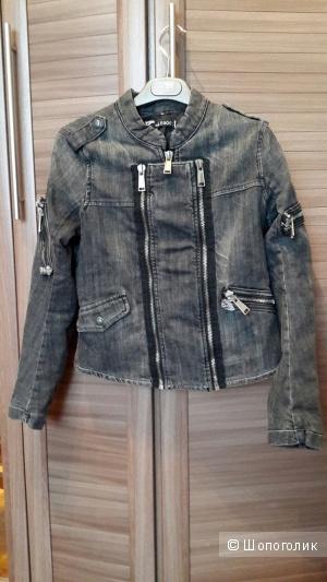 Lerock джинсовая куртка 42-44 размер