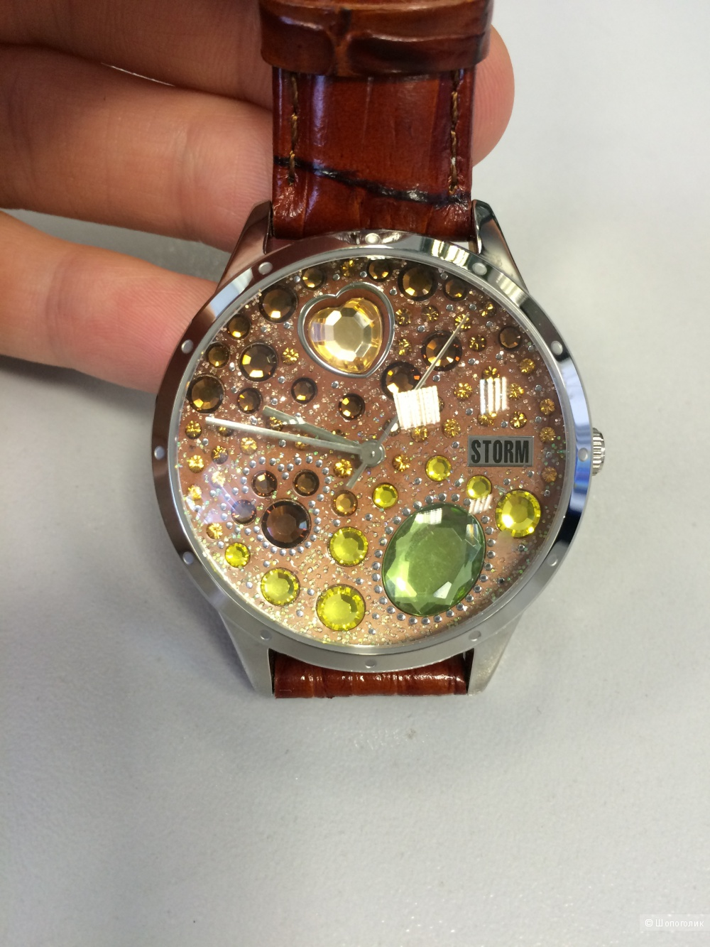 Часы Storm Gemonite Brown