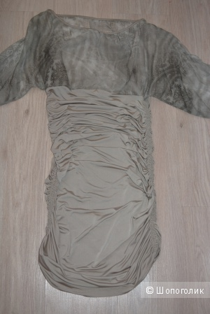Шикарное итальянское платье размер 38