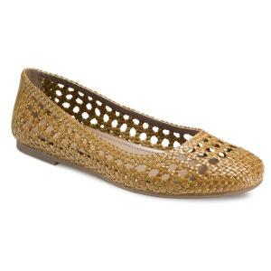 ECCO красивые плетеные балетки идеальная обувь для лета р.39 Новые