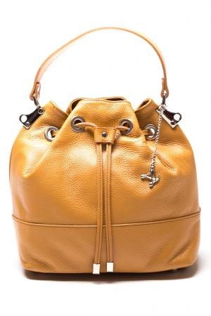 Кожаная сумка марки Luisa Vannini новая
