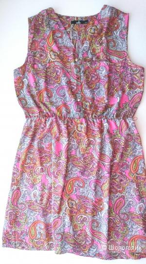 Цветочное летнее платье Zolla